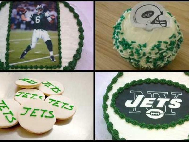 Jets Colors Sell Cookies And Cakes