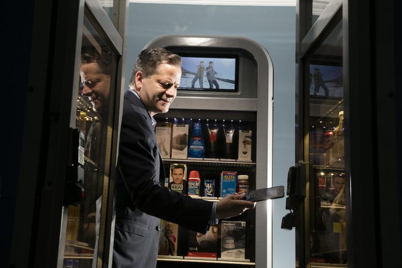 Tom Murn's high tech vending machine could compete with Amazon Go for to be the convenience store of the future and help solve retail's woes